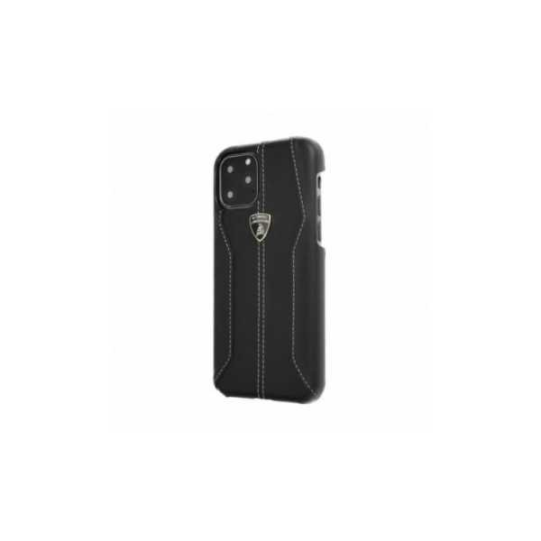 TPU kryt, obal Lamborghini Originálny zadný kryt na Apple iPhone XR  Černý
