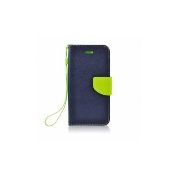 Peňaženkový obal Fancy Book na  HTC U12+  Modrý