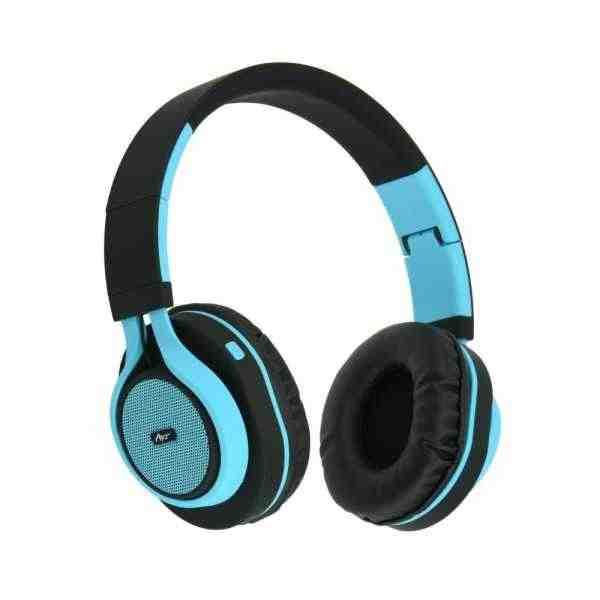 Sluchátka Bluetooth Stereo s mikrofonem AP-B04 Modrý