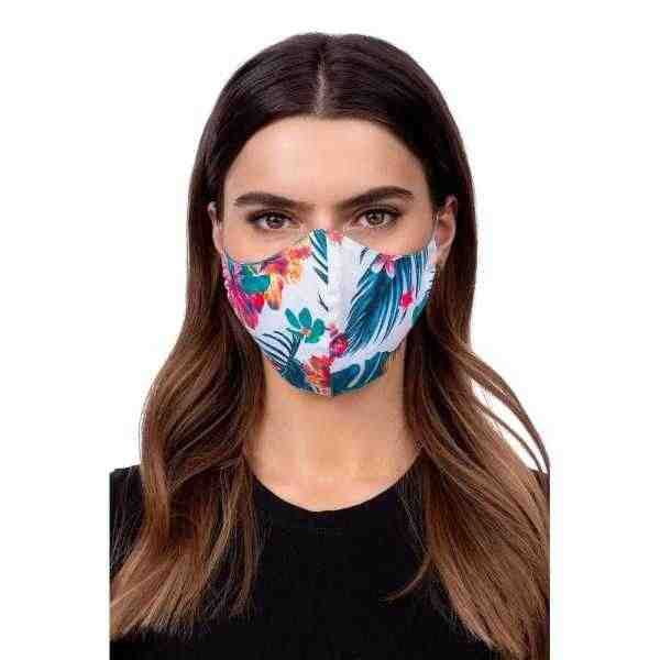 Face mask - flower Multicolour